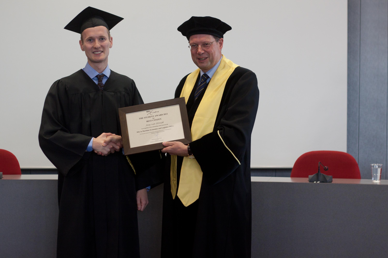 Class of 2012_Joey van Elswijk (Student Excellence)