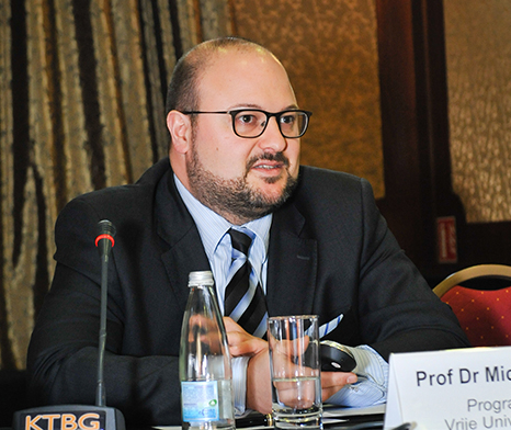 Dr. Michael Dooms, Assistant Professor, University of Brussels (VUB).